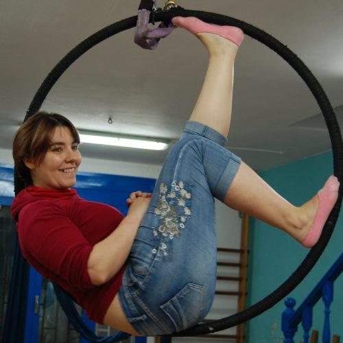 La Colombina, circ anella-teles