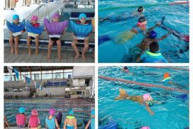 La Colombina Sirenes i Tritons a la piscina