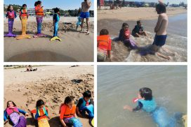 La Colombina Sirenes i Tritons, platja